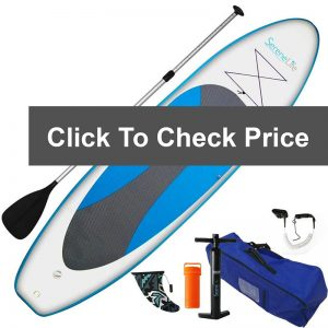 SereneLife Inflatable Stand Up Paddle Board Review 01