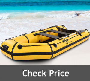 Goplus 4 Person Inflatable Dinghy Boat review